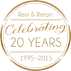 20 years of Rent and Retain!